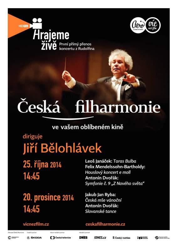 Česká filharmonie v kině
