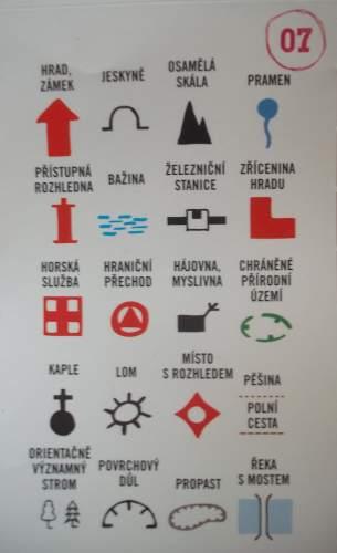 Mapové vysvětlivky