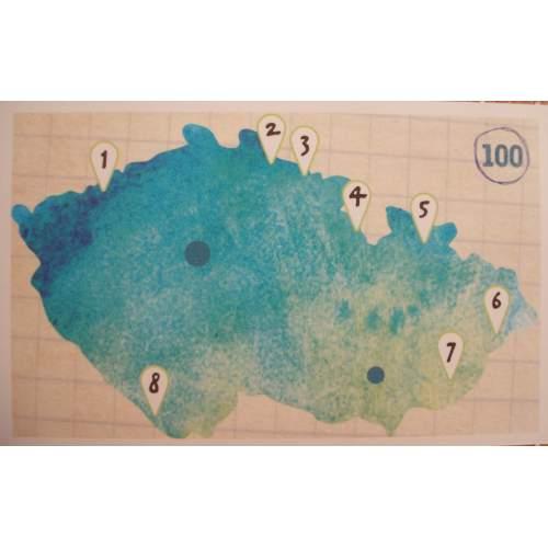 Mapa horských túr