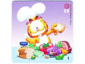 Garfield vaří