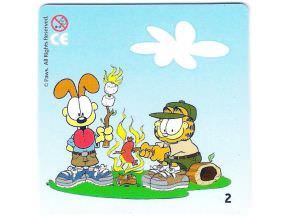 Garfield a Odie u táboráku