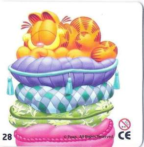 Garfield na polštářích (1/3)