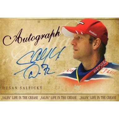 Dušan Salfický Autograph