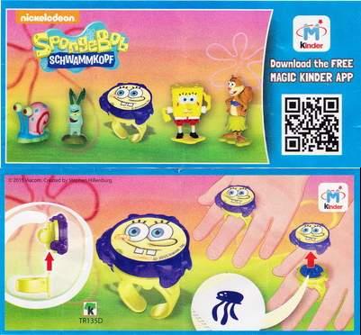 Prsten SpongeBob