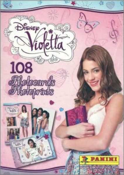 Album Photocards Violetta