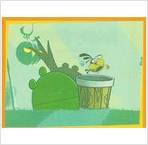 Angry Birds samolepka