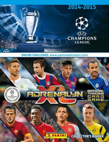 Album na karty Champions League 2014-2015