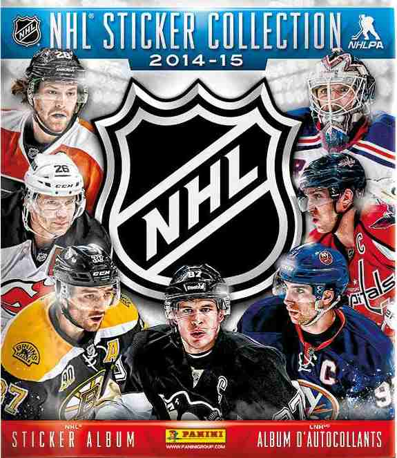 Samolepkové album NHL 2014 - 15