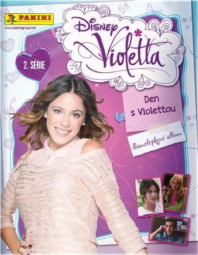 Samolepkové Album Den s Violettou