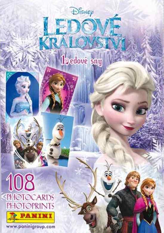 Portfolio na karty Panini Ledové království - Ledové sny