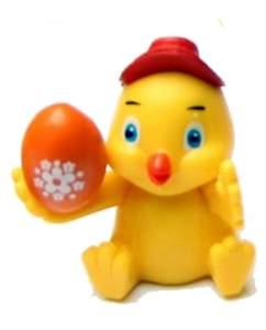 Kuřátko s vajíčkem