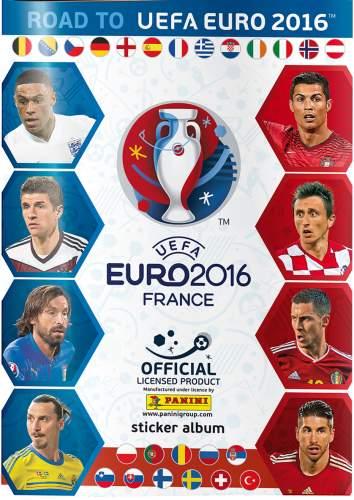 Samolepkové album - Road to UEFA Euro 2016