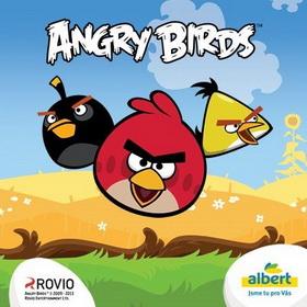 Angry Birds kartičky Albert