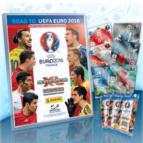 Karty Panini Road to UEFA EURO 2016