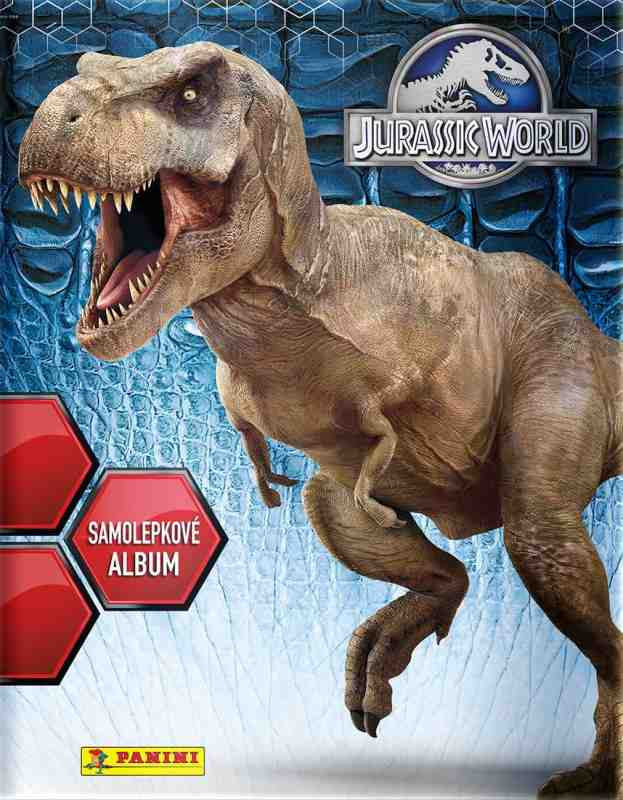 Samolepkové album Jurassic World