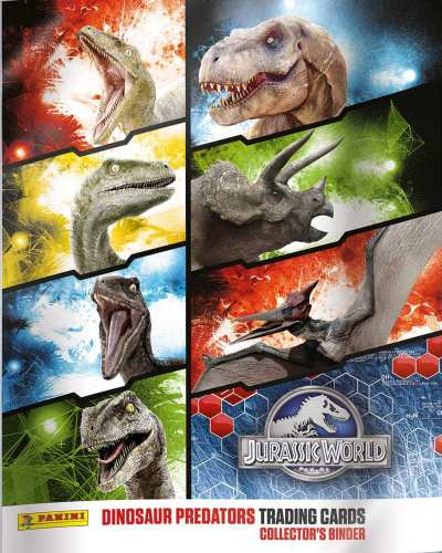 Album na karty Jurassic World