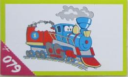Lokomotiva se soupravou č.1