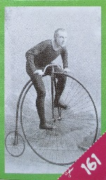 Muž na velocipédu