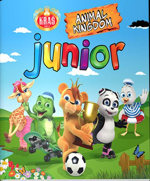 Album na samolepky Animal Kingdom Junior