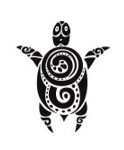 Tetování - Želva