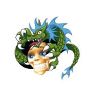 Tetování - Bertík s drakem