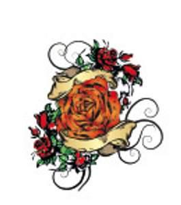 Tetování - Růže