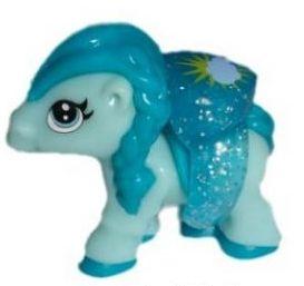 Pony modrý s prstýnkem