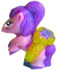 Pony fialový s prstýnkem