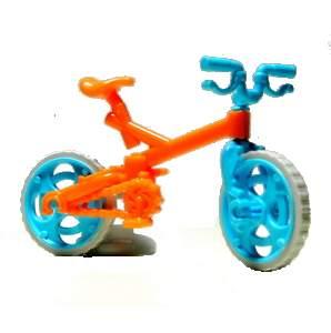 BMX kolo oranžové
