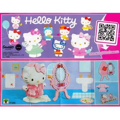 Hello Kitty modelka