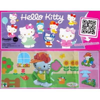 Hello Kitty zahradnice
