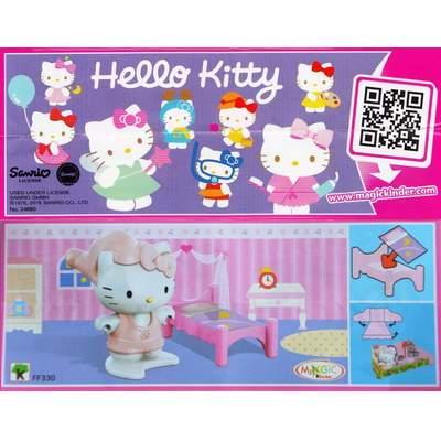 Hello Kitty jde spát