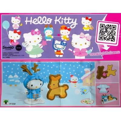 Hello Kitty v zimě