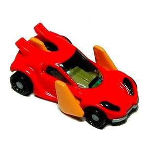 Špiónské auto červené