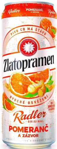 Zlatopramen Radler pomeranč 2018