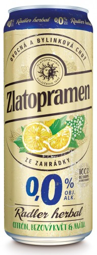 Zlatopramen Radler Herbal Citron