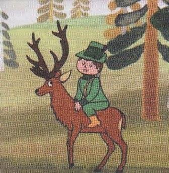 O hajném Robátkovi a jelenu Větrníkovi