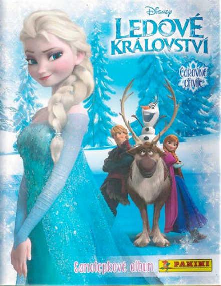 Samolepkové album Ledové království: Čarovné chvíle