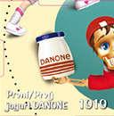 První jogurt Danone