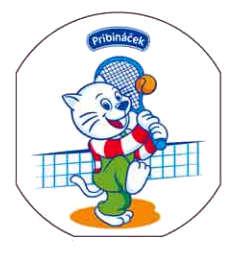 Pribináček hraje tenis