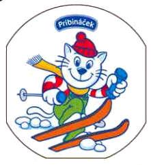 Pribináček lyžuje