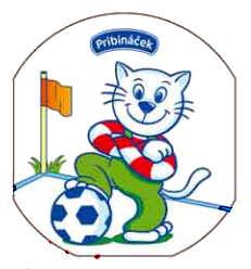 Pribináček hraje fotbal