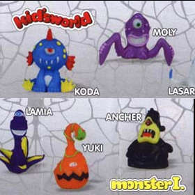 Kid´sworld Monster figurky