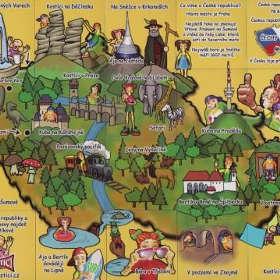 Kostíci - Mapa ČR