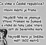 Co víme o ČR?