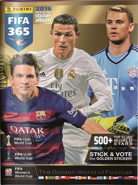 Samolepkové album FIFA 365