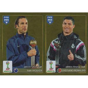 Silver Ball - Ivan Vicelich / Bronze Ball - Cristiano Ronaldo