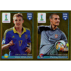 Golden Boot - Viktor Kovalenko / Golden Glove - Predrag Rajkovic