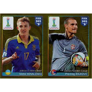 Golden Boot - Viktor Kovalenko / Golden Glove - Predrag Rajkovic