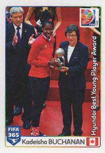 Hyundai Best Young Player Award: Kadeisha Buchanan
